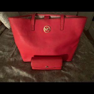 Mk bag & wallet